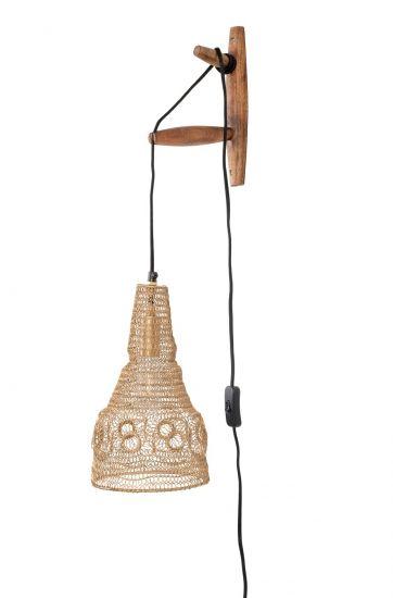 homii Alen Vegglampe - Mangotre/Jern