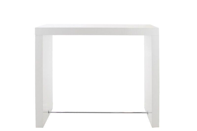 AC01664 - Arch Barbord H105 cm - Hvid højglans