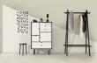 Andersen Furniture - S5 Høyskjenk - Svart lakk - Hvit