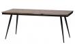 Rhombic Spisebord - Teak/Metal, 180x90