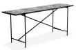 HANDVÄRK - Konsolbord 184x46 - Grå marmor