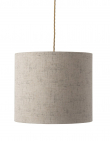 Ebb&Flow - Lampeskjerm, sand marl, Ø35