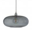 Ebb&Flow - Horizon pendel, Ø36cm smokey grå