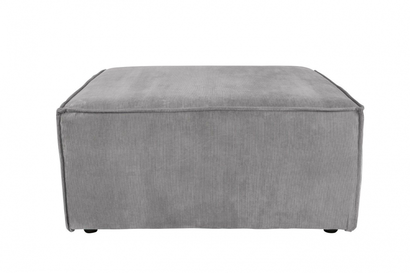 Zuiver - James Puff 86x86 - Cool grey ribb