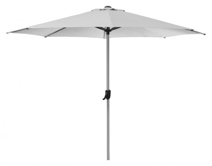 Cane-line Sunshade parasoll m/Sveiv, Ø3 m,  dusty white