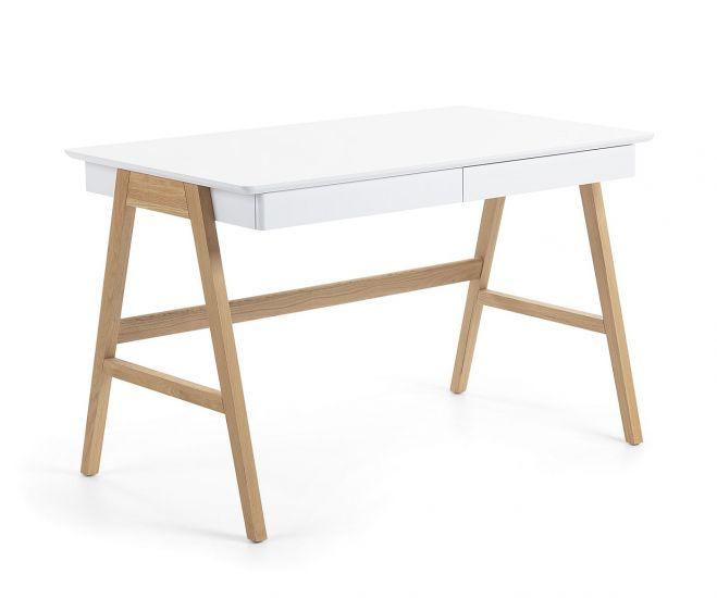 LaForma - Ingo Skrivebord 120x70 - Hvit topp