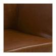 Amada Spisebordstol - Cognac PU skinn
