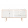 Andersen Furniture - S6 Skjenk - Eik såpe - Hvit
