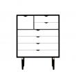 Andersen Furniture - S8 Kommode - Svart lakk hvit