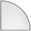 AYTM - Unity Speil 1/4 cirkel - Svart