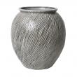 Sandy Keramik Vase L - Smoked Pearl
