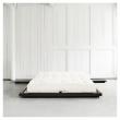 Dock Sengeramme Sort, Comfort Futon madrass, Offwhite, 180x200