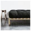 Pace Sengeramme Natur, Comfort Futon madrass, Sort, 140X200