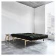Pace Sengeramme Natur, Comfort Futon madrass, Sort, 180X200