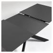 Kave Home Atminda Spisebord - Sort, 160/210x90