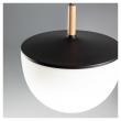 Kave Home Neda Pendel - Hvit/Sort