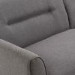Kave Home Oksana 3-seter Sofa - Mørk Grå