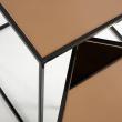 Kave Home Sute Indskudsbord - Gyllen speil topp