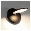 Kave Home Tannsy LED Vegglampe - Sort