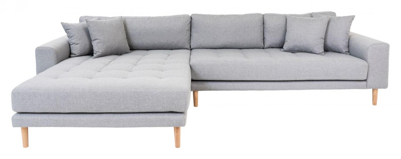 Lido Lounge Sofa m, venstrevendt sjeselong - Lysegrå