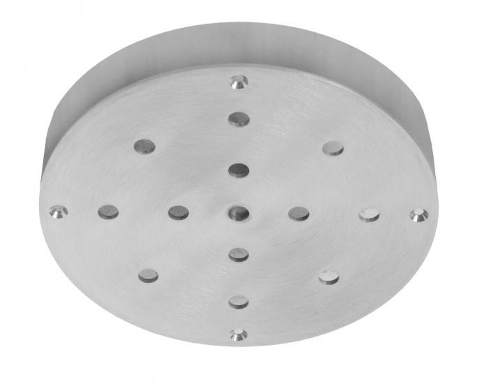 Ebb&Flow - Ceiling box, round, S, Sølv