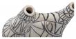 Bloomingville Deko Vase - Hvit Terrakotta