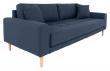Lido 3-pers, Sofa - Mørkeblå