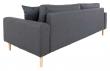 Lido 3-pers, Sofa - Mørkegrå