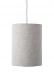 Ebb&Flow - Lampeskjerm, Sølv marl, Ø30
