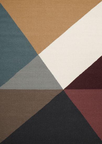 Linie Design Metri Teppe - Mustard, 200x300