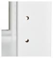 Hoppekids Storey Reol - 3 seksjoner m/12 Hyller og Skriveplate 100 cm