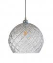 Ebb&Flow - Rowan Pendel Med Krystall m. Sølv Ø28