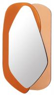 Layer Speil m, farget glass, 116x70