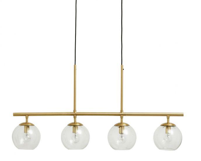 Nordal Globe taklampe 4-in-one - Messing