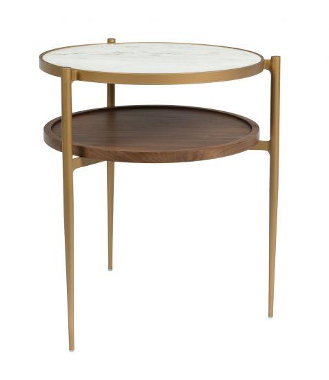 Dutchbone Bella Sidebord - Keramikk/Jern