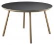 FDB Møbler D105 Gesja Sofabord - Eik/Nero Linoleum, Ø75