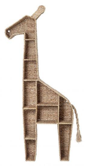 Bloomingville Mini Bokreol Giraff - Naturflett