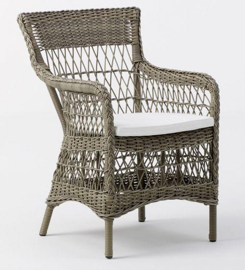 Sika-Design - Marie Stol m. Armlen - Grå