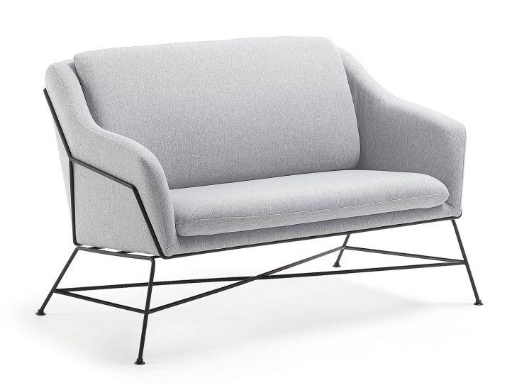 LaForma Brida 2-seters Sofa - Lys grå