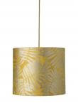 Ebb&Flow - Lampeskjerm, fern leaves wild, gul, Ø35