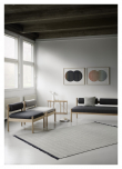 Fabula Living Felicia Kelim - Lysegrå, 170x240