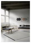 Fabula Living Felicia Kelim - Lysegrå, 200x300