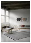 Fabula Living Njord Kelim - Lysegrå/Sort, 170x240