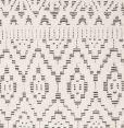 Linie Design - Zelbio Teppe - hvit/svart - 170/240