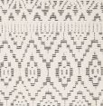 Linie Design - Zelbio Teppe - hvit/svart - 200/300