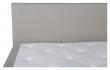 Rättvik 5-zoners Kontinentalseng Medium/Medium, Beige stoff, 160x200