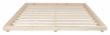 Dock Sengeramme Natur, Comfort Futon madrass, Offwhite, 180x200
