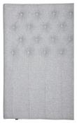 Furuvik sengegavl, Lysegrå stoff, B:180