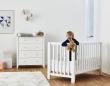 Hoppekids - Anton Babyseng 120x60 Hvit