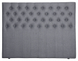 Furuvik sengegavl, Mørkegrå stoff, B:160